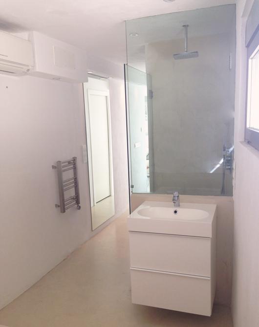 Apartment Shower 1