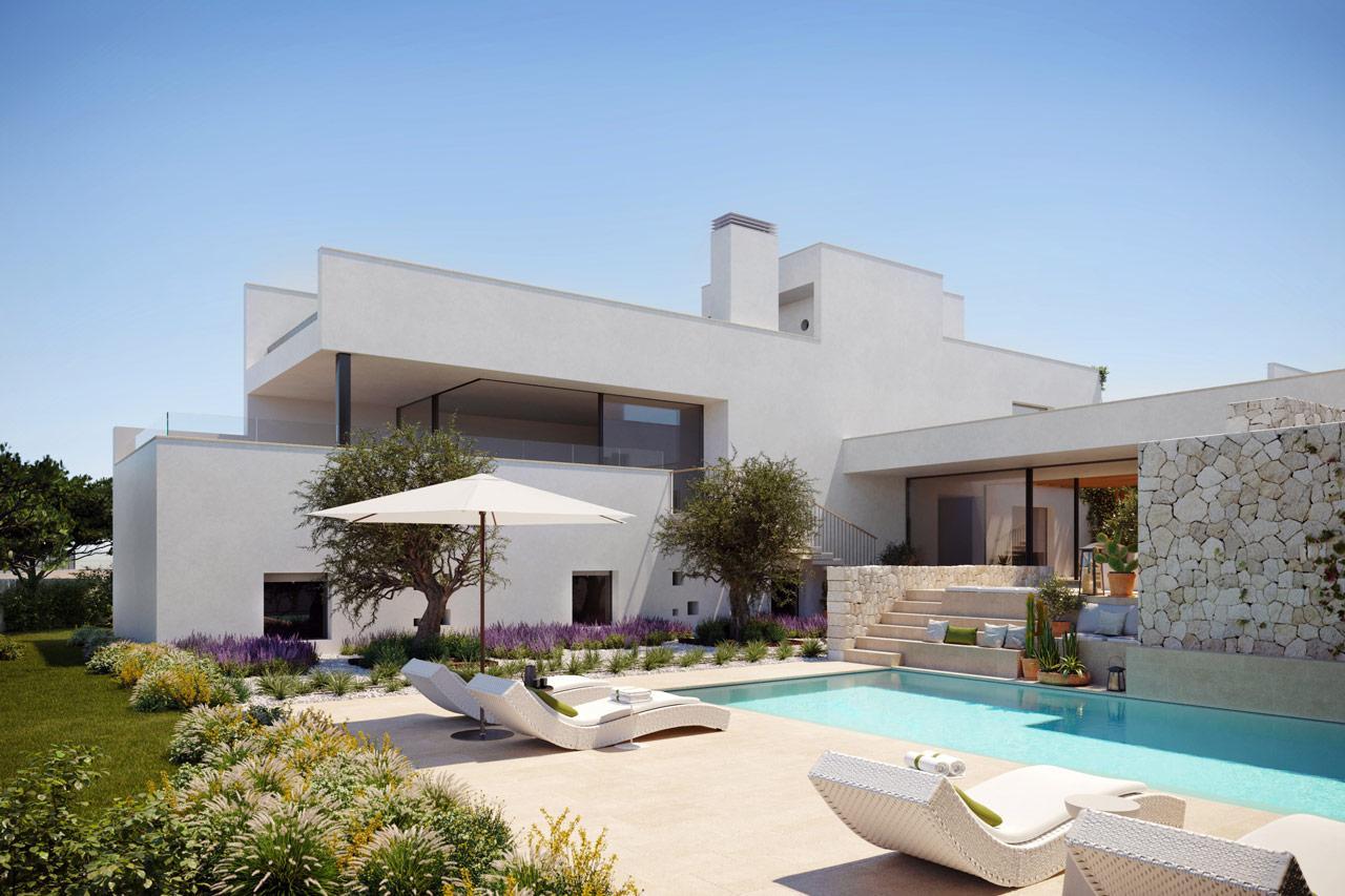 New Development Of Villas In Cala Conta 1