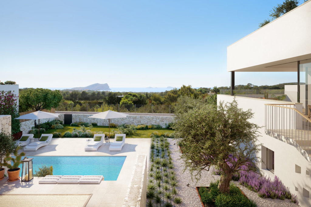 New Development Of Villas In Cala Conta 2