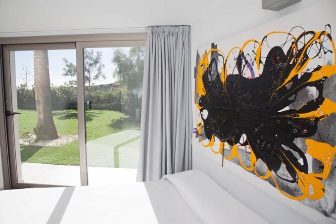 Villa In Cap Martinet Bedrooms Entrance To The Garden