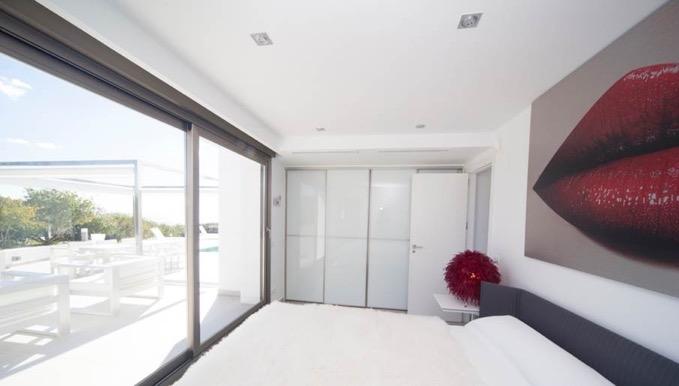 Villa In Cap Martinet Big Bedroom Ibiza