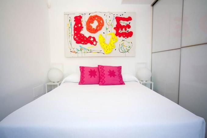 Villa In Cap Martinet Enjoy Love Bedroom Ibiza
