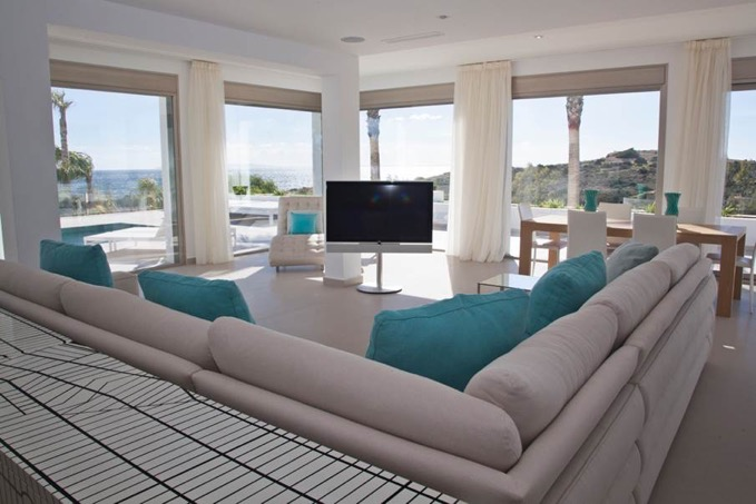 Villa In Cap Martinet Enjoy The Huge Space Ibiza