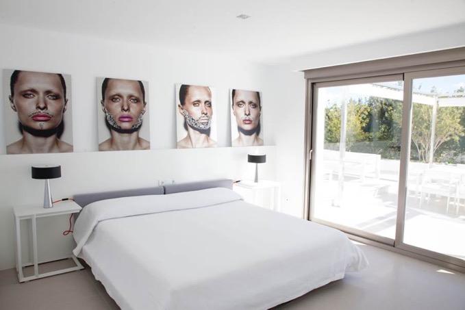 Villa In Cap Martinet Modern Bedroom Ibiza