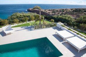 Villa In Cap Martinet Pool Area Ibiza