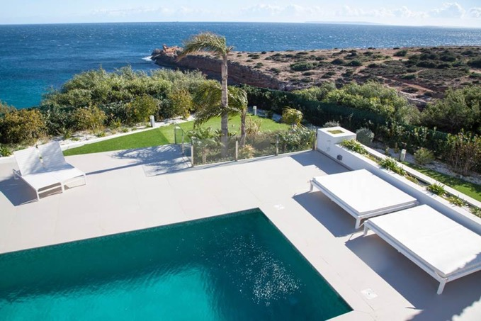 Villa In Cap Martinet Pool Area Ibiza