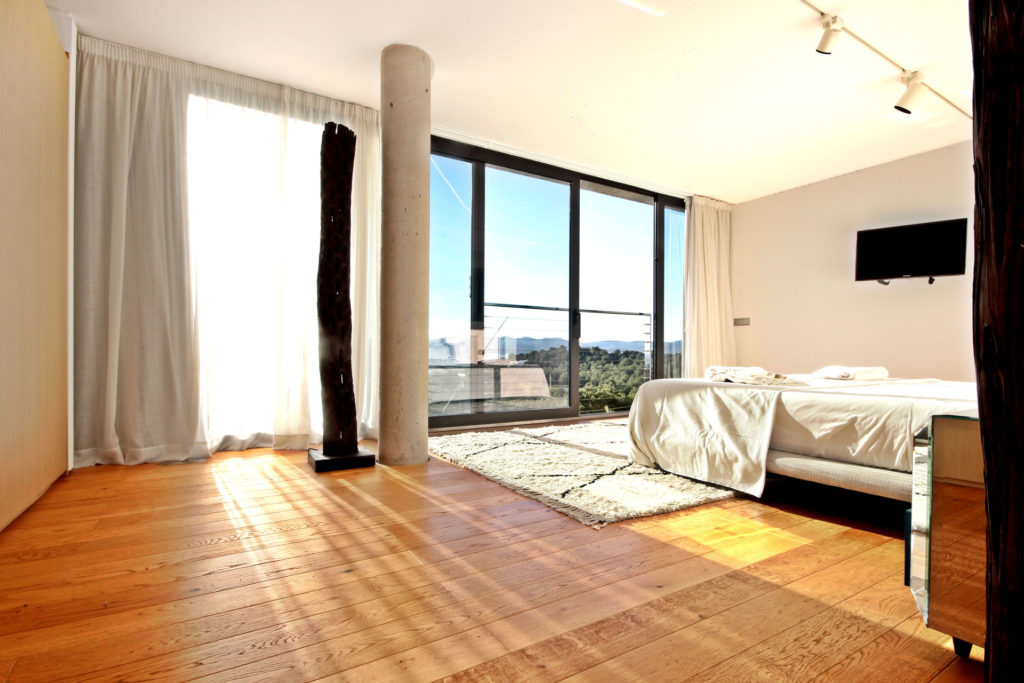 Villa In Talamanca Big Bedroom With Amazing View Ibiza