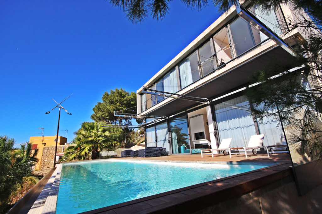 Villa In Talamanca Pool View Ibiza