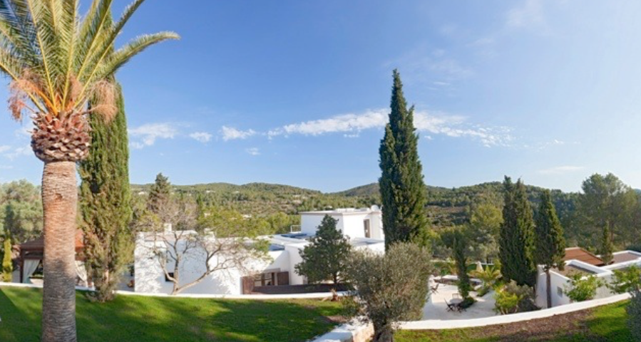 Villa Outside View Ibiza 1