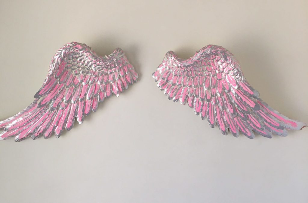 Angel Wings Feature On Wall