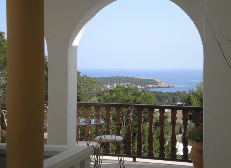 Arch White Sea Views Ibiza Villa