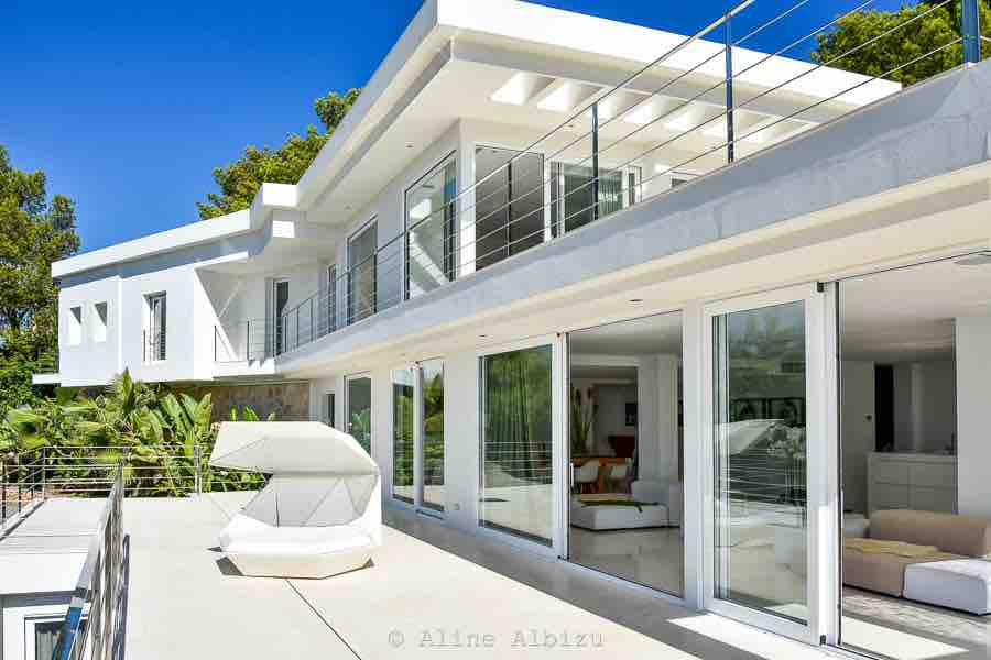 Art Clean Gorgeous Beautiful Ibiza Villa White 1