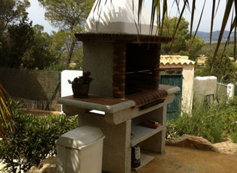 Barbecue Ibiza Villa Outdoor