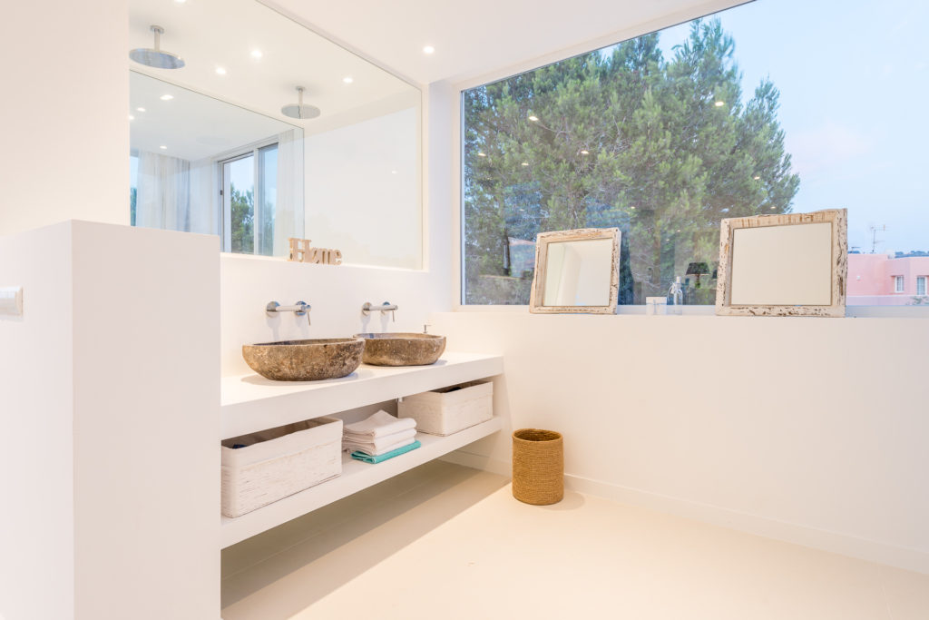 Bathroom Ibiza Villa Eclusive Spacious