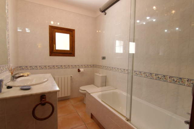 Bathroom Ibiza Villa Rustic