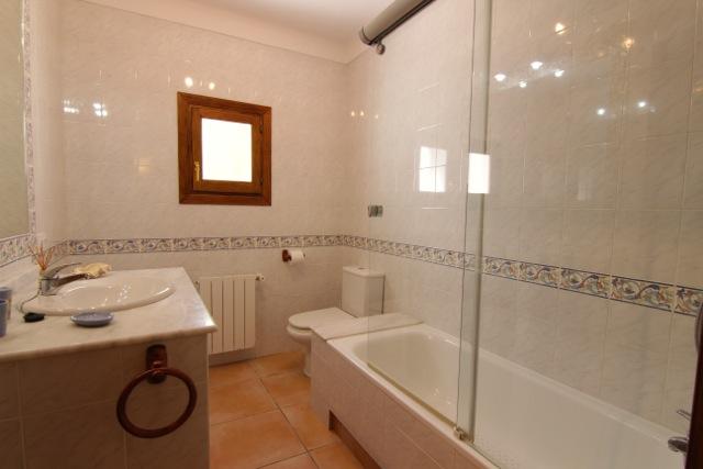 Bathroom Ibiza Villa Rustic