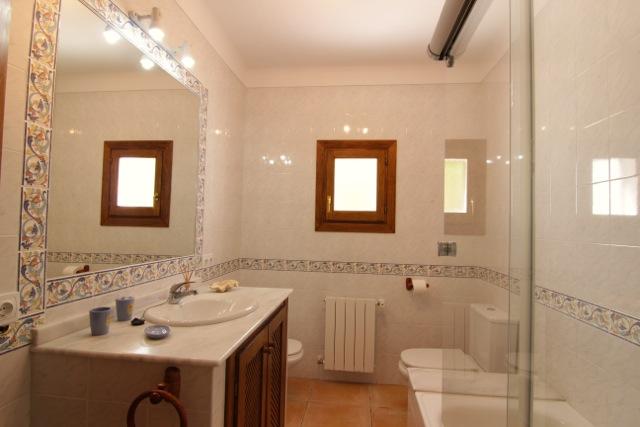Bathroom Rustic Ibiza Villa