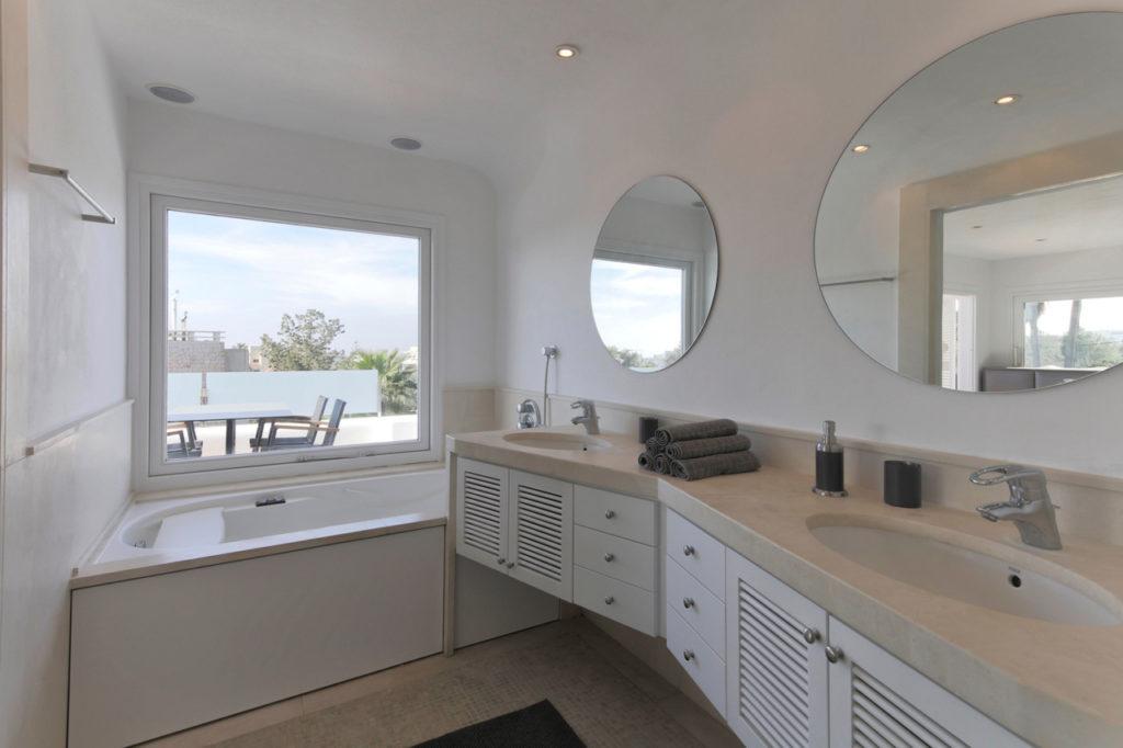 Bathroom With View Talamanca Ibiza