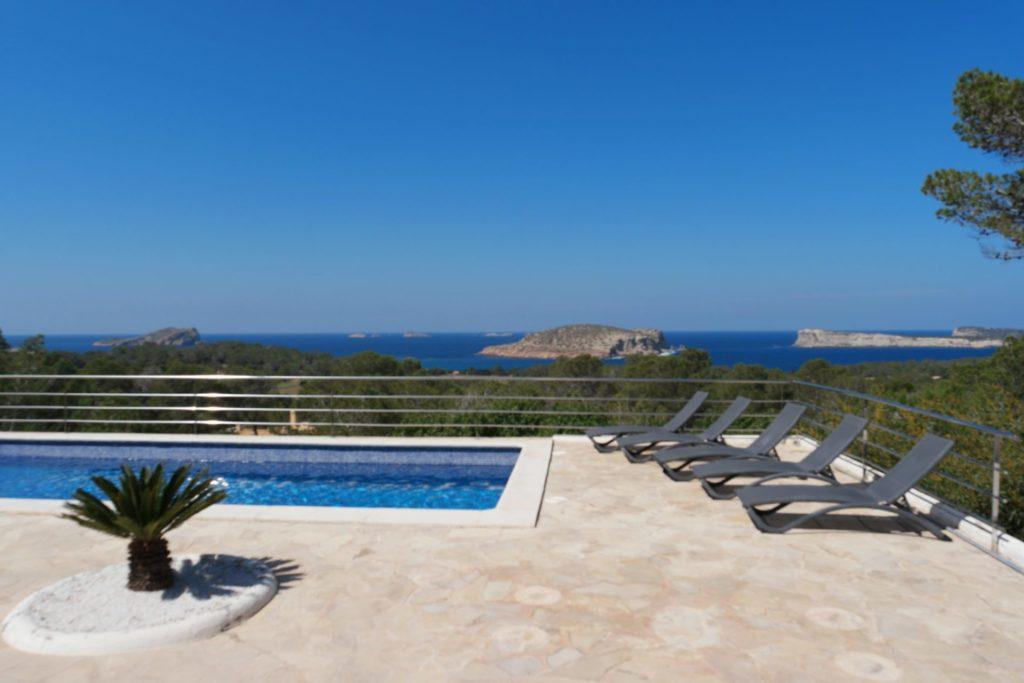 Beachfront Garden Luxury Villa With Pool Ibiza