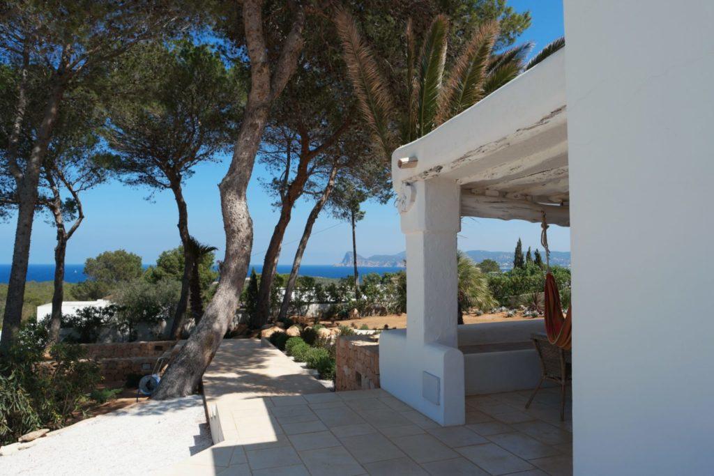 Beachfront Garden Palm Trees Luxury Villa With Private Pool Ibiza