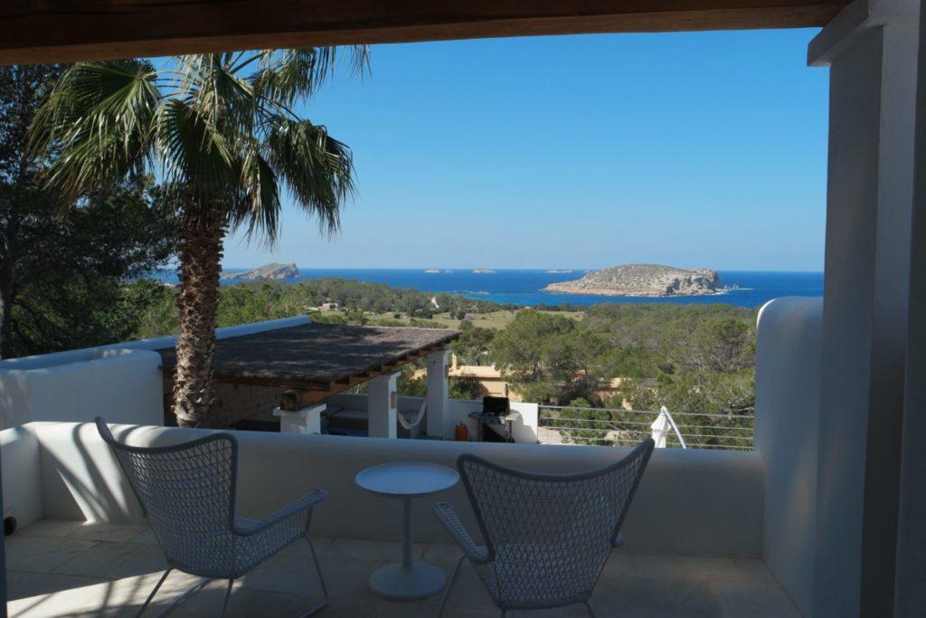Beachfront Villa In Ibiza Spain