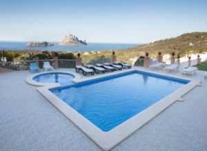 Beautiful Pool Poolside Ibiza Villa