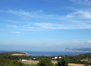 Beautiful Sea Views Green Ibiza Villa