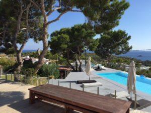 Beautiful Views Trees Swimming Pool Terrace Ibiza Villa