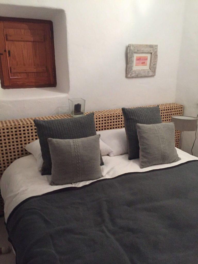Bed Ibiza Villa Grey Finca Style