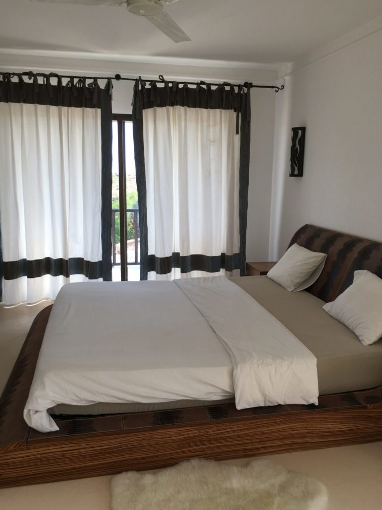 Bedroom Beige Ibiza Villa