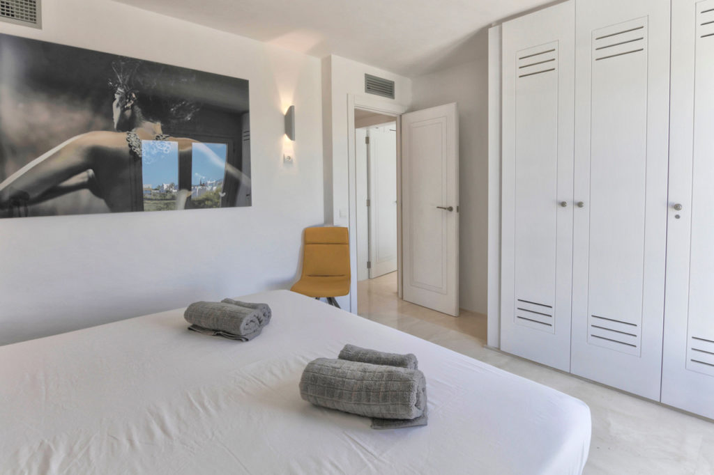 Bedroom Big Talamanca Ibiza Villa Modern