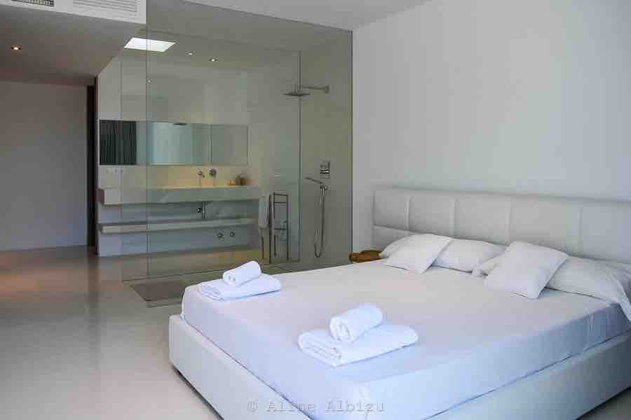 Bedroom Chic White Clean Amazing Ibiza Villa