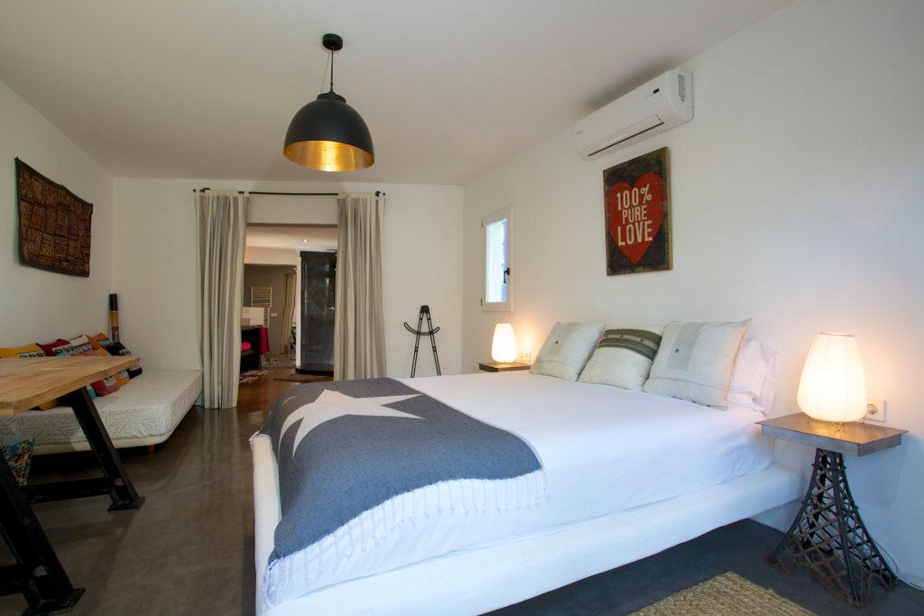 Bedroom Ibiza Villa Light Style Perfect