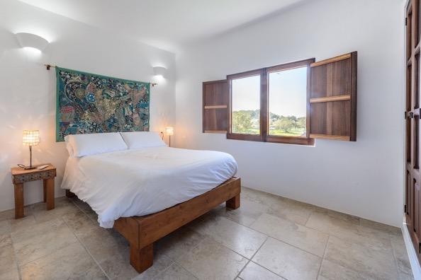 Bedroom Ibiza Villa Window Views Incredible