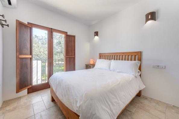 Bedroom Ibiza White Villa Beautiful Clean