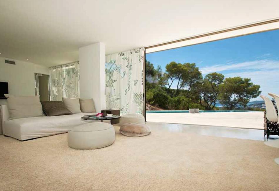 Bedroom Living Room View Window Ibiza Modern Luxury Vip