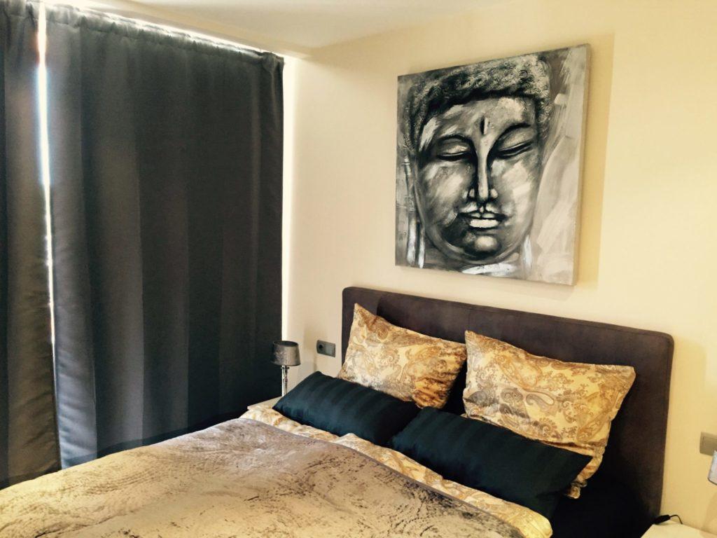 Bedroom Luxury Ibiza Villa Modern Art