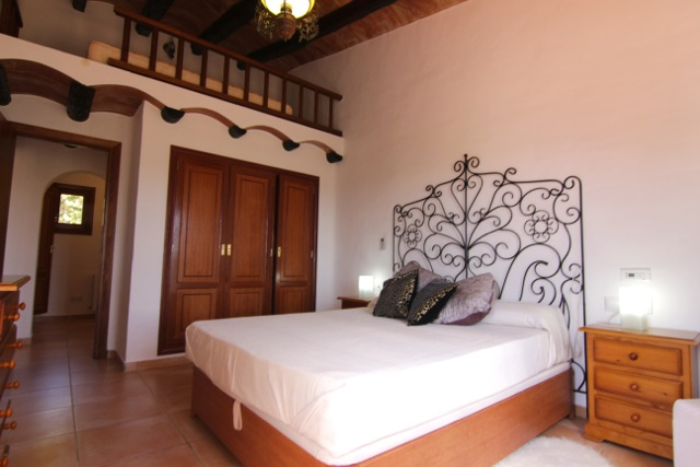 Bedroom Rustic Villa Ibiza Gorgeous