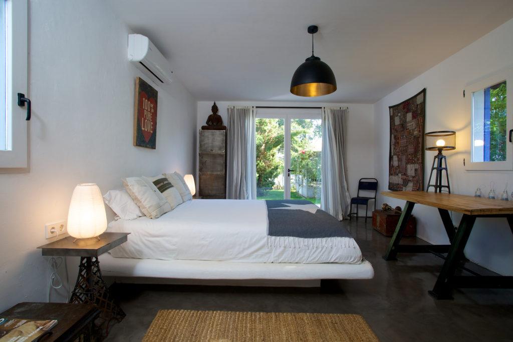 Bedroom Style Perfect Ibiza Villa Light