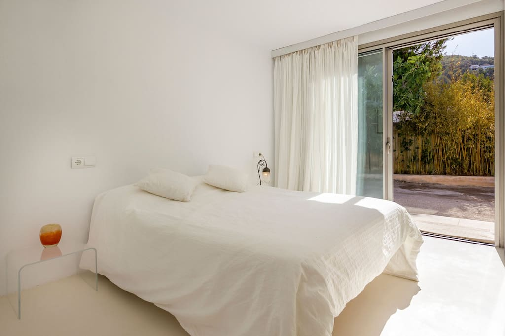 Bedroom With Big Windwo Casa Can Pepsimo Ibiza