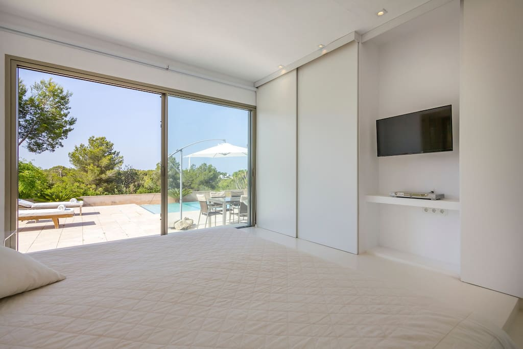 Bedroom With View Casa Can Pepsimo Ibiza