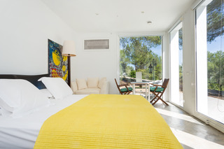 Bedroom With View Green Garden Ibiza Character