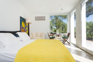 Bedroom With View Ibiza Villa Character Colourful Beautiful