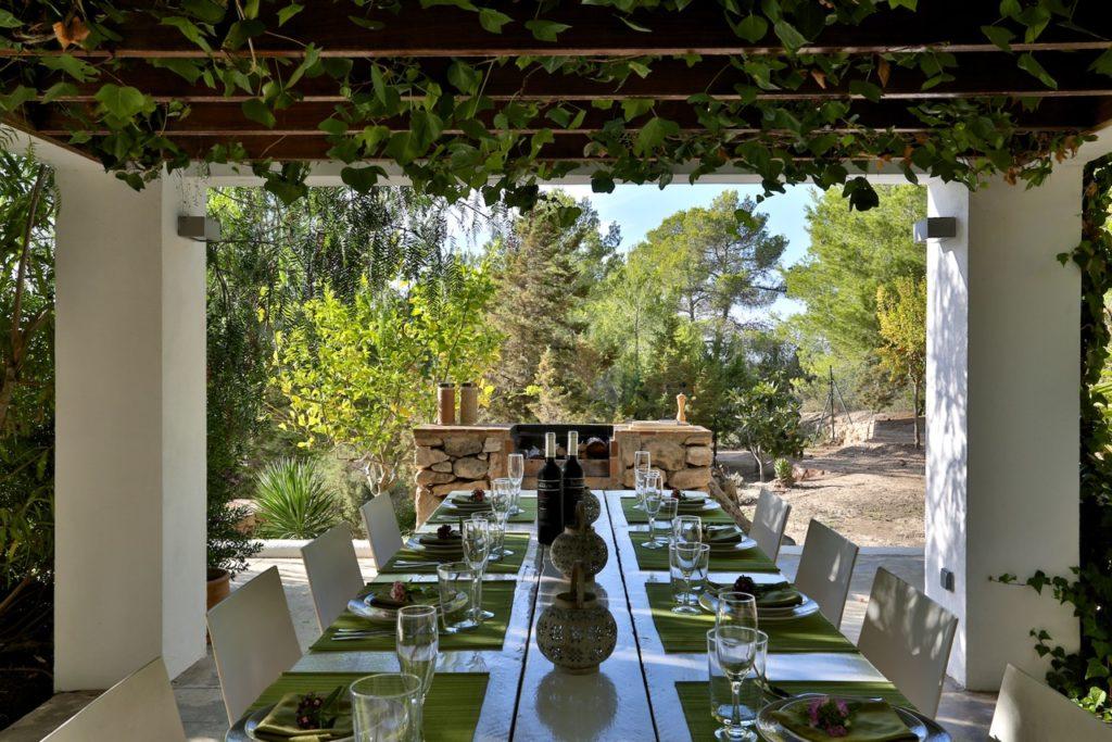 Big Barbecue Place Villa Ibiza