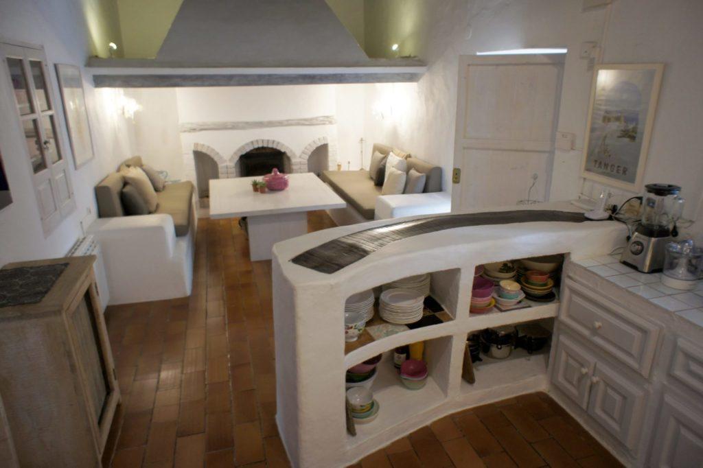 Big Finca Kitchen Area Ibiza