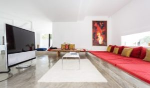 Big Plasma Ibiza Villa White Chic Clean Minimal