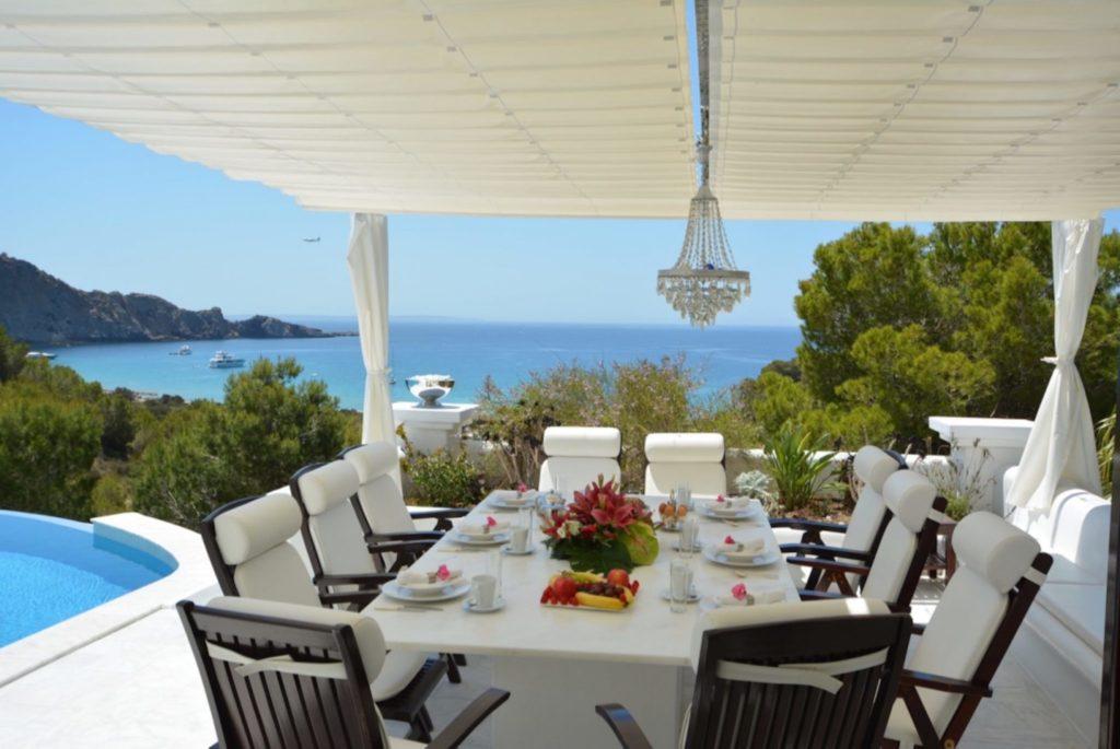 Breakfast Ibiza Villa Exclusive Luxury