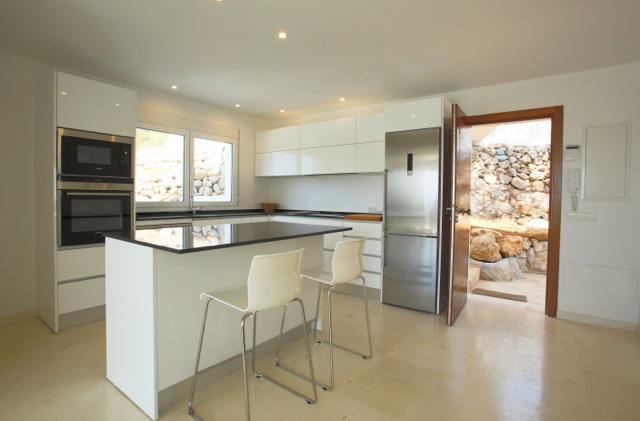 Chic Modern Ibiza Villa Comtemporary Luxury Kitchen