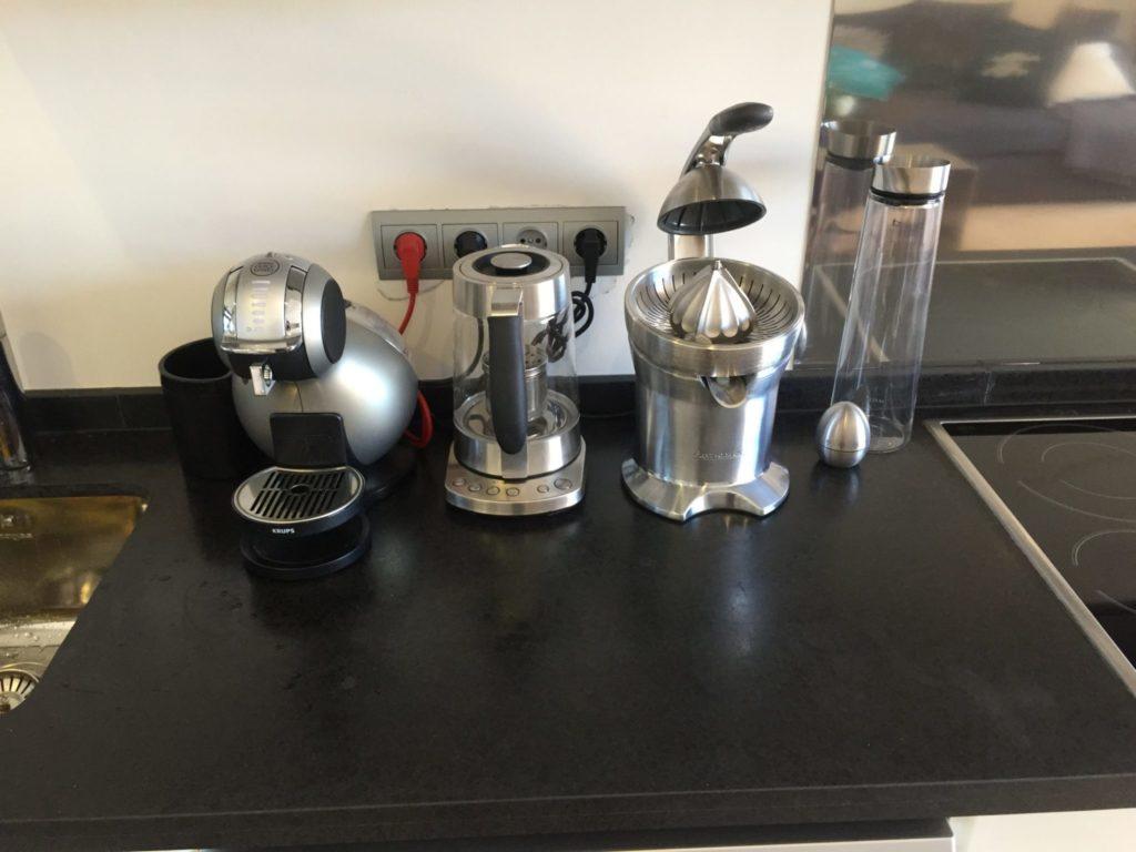 Coffee Machine Juicer Kitchen Villa Ibiza