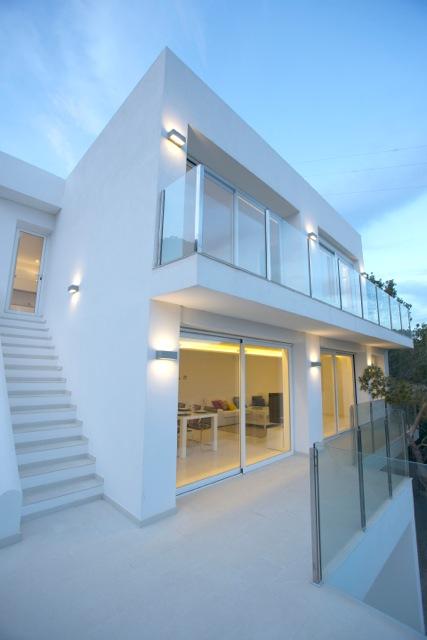 Contemporary Chic Villa Modern White Cube Style Ibiza